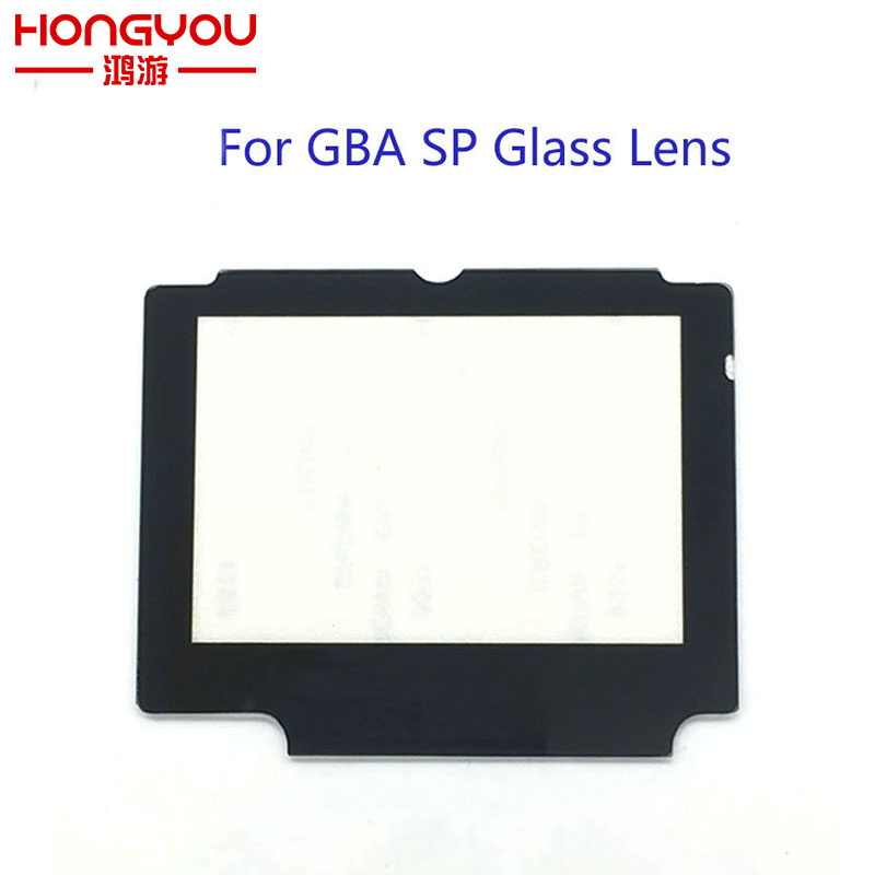 20PCS Glass Replacement LCD Display Screen Lens Protection Panel Cover Repair Part For Nintendo GBA SP W/ Adhesive Tape