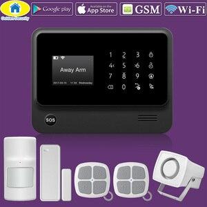 Image 5 - Towode G90B בתוספת WIFI GSM 2G IOS אנדרואיד APP מרחוק בקרת אבטחת בית אזעקה מערכת IP מצלמה משולב