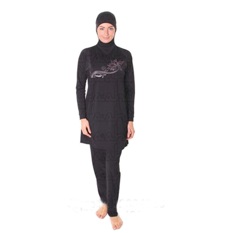 Knowledgeable New Plus Size S-4xl Full Coverage Modest Muslim Swimwear Islamic Swimsuit For Women Muslim Hijab Swimsuits Sports & Entertainment Yoga Shorts
