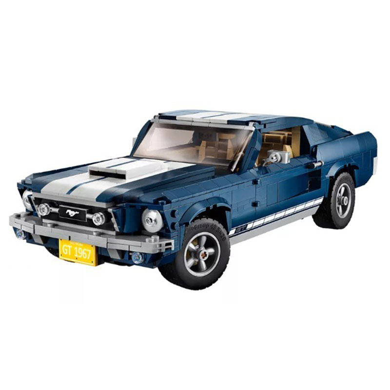 Fording mustang 1967 gt500 forded 10265 creator expert 모델 빌딩 블록 1684 piece 아이들을위한 벽돌 장난감-에서블록부터 완구 & 취미 의  그룹 3