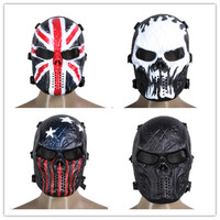 Masquerade Halloween Scary Skull Masks Phantom Ghost Cosplay Costumes CS Wargame Outdoor Tactical Military Army of Two Mask