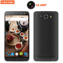 YUNSONG S10 Plus 6.0 inch QHD Screen Mobile Phone 16.0MP camera MTK6580 Quad Core Dual Sim Cell Phone GSM/WCDMA 3G Smartphone