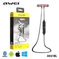 НОВЫЙ Awei A921BL аналогичные A920BL Магнит Беспроводная Спортивные Наушники Bluetooth супер Бас Стерео в уши наушники headsfree с Микрофоном