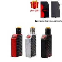 Free Gift GeekVape Mech Pro Box Mod With Medusa RDTA E Cigarette Tank Mech Pro Box
