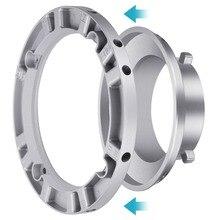 Neewer софтбокс скоростное кольцо-адаптер для вспышки Bowens Monolight и софтбокса-алюминиевый сплав, внутренний диаметр 9,6 см