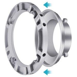 Neewer софтбокс скоростной кольцевой адаптер для вспышки Bowens Monolight и мягкой коробки-алюминиевый сплав, внутренний диаметр 9,6 см