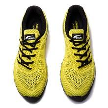 Мужские кроссовки onemix желтые для бега ходьбы на открытом