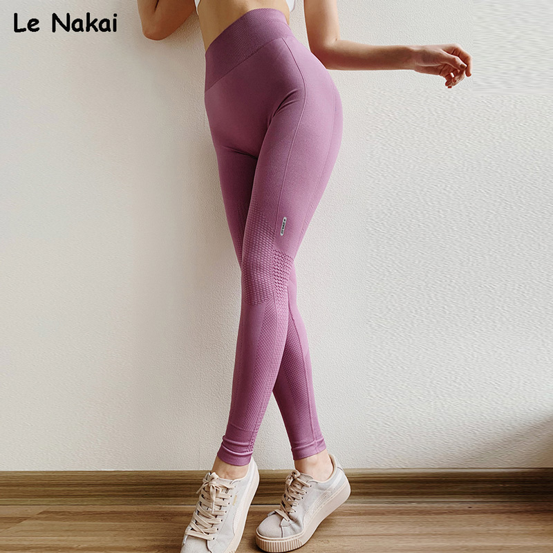 Anti-cellulite Compression Seamless Leggings High Waisted Fitness Gym Legging Moto Push Up Yoga Pants Scrunch Butt Workout Tight
