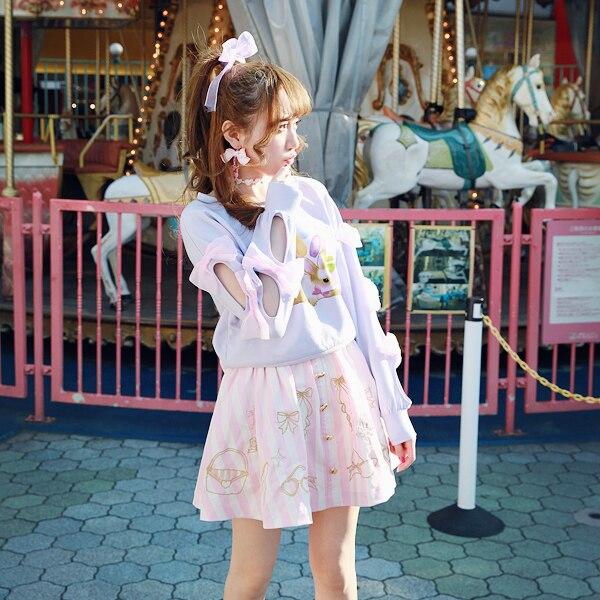 Frange Boucle Lolita Bobon21 Douce Princesse Broderie Amour B1353 Fille Jupe Dentelle Derrière La vqPSf4SpW