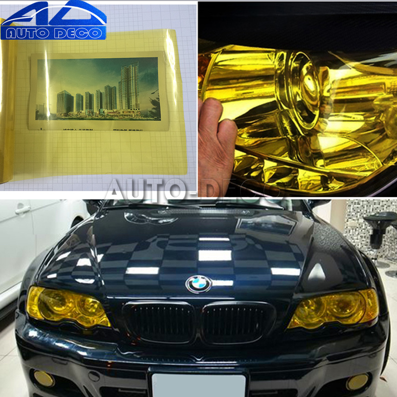1.2m Car Headlight Film Taillight Tint Vinyl Film Sticker Scooter Motorcycle Lamp Stickers Brake Light Car Accessories