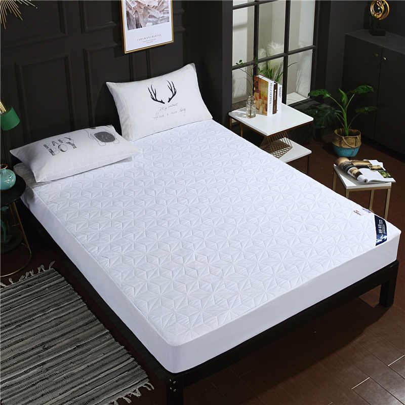LAGMTA 1pc 100% Polyester Waterproof Mattress Cover Fitted Sheet Four Corners With Elastic Bed Sheet