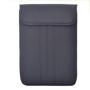 Image 2 - Notebook à prova d água Caso Bolsa Protetora para 17.3 17 15.6 15 14 13.3 12 11.6 polegada Laptop Sleeve suave capa de transporte sacos de malote
