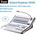 2 шт. Kingkong KK-1024Si профессиональный DMX контроллер 1024 DMX каналы поддержка 120 шт. сценические огни 512 DMX консоль Dj оборудование