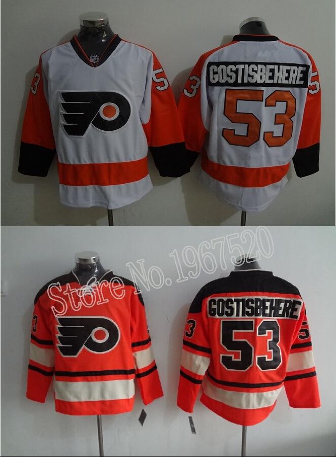 innovative design 16f1b 87b40 Men's Philadelphia Flyers #53 Shayne Gostisbehere Jersey ...