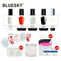1Set 100%  Genuine Best-Selling Bluesky New Best Top Colors UV LED Gel Nail Polish,DIY Easy Soak Off Nail Art Gel Polish Salon