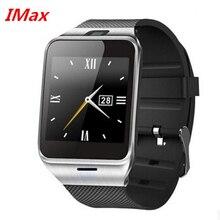 Heißer verkauf gv18 aplus smart watch telefon nfc kamera pedometer smartwatch 450 mah für android armbanduhr telefon