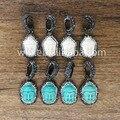 Novo! Natural turquesa pedra para fazer jóias pulseira, pulseira turquesa pedra fazendo WT-NP041