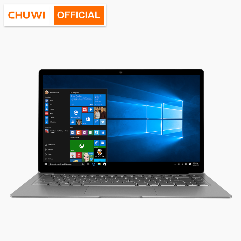 CHUWI LapBook Air 14.1 pouce Windows10 Ordinateur Portable Intel Apollo Lac N3450 8 gb RAM 128 gb ROM Portable Double WIFI 2.4g/5g Ultrabook