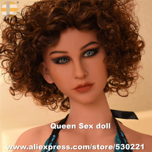 NEW Top Quality WMDOLL Head For Silicone Sex Doll Big Breasts Realistic Oral Love Dolls Heads Life Size Sexy Toy For Men