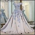 2017 novo estilo de moda do casamento do país ocidental vestidos de arco estilo retro voltar lace up Bow andar de comprimento vestidos de noiva de peru