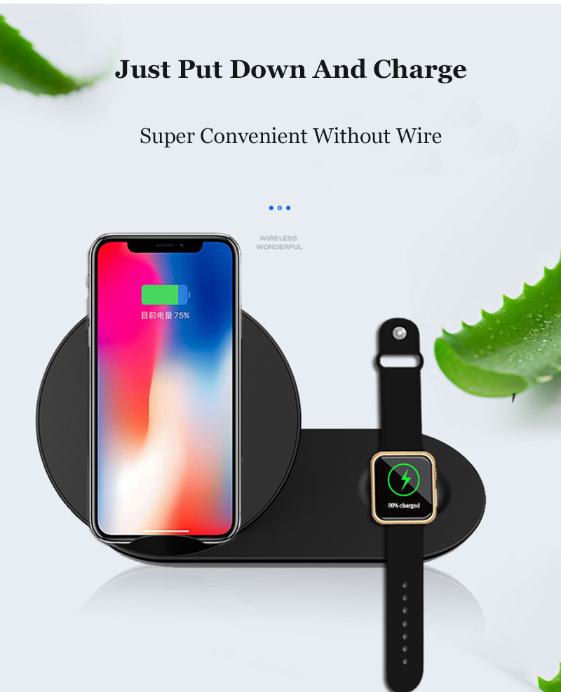 just put down and charge