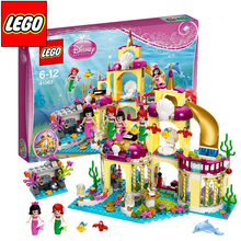BELA 10436 Princess Undersea Palace Girl Friends Building Blocks 383pcs Bricks Toys For Children Birthday Gift