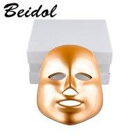 NEW 7 Colors LED Photodynamic Facial Mask Home Use Beauty Instrument Anti Acne Skin Rejuvenation LED