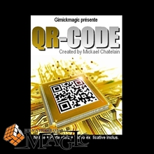 Free shipping! QR Code by Mickael Chatelain close up Street mentalism Classic card comedy magic tricks