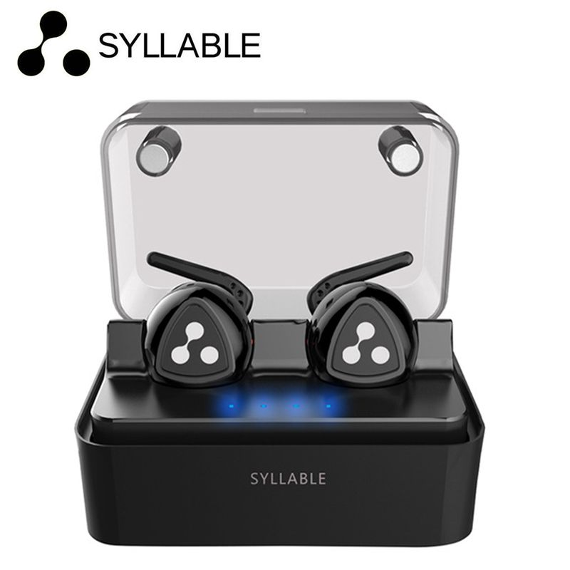 DHL free Syllable D900 Mini Portable Sport Running earphone Bluetooth 4.1 Earphone With Mic For Iphone 7 Android Smartphone