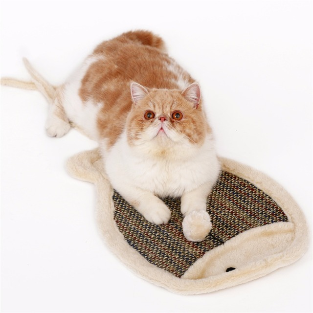 Animal Shaped Scratching Mat for Cats