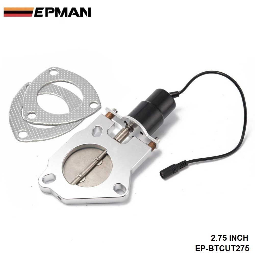 """2,7"""" Электрический Выпускной вырез клапаны подходит для y-трубы выхлопной для BMW E39 5 серии 97-03 EP-BTCUT275"""