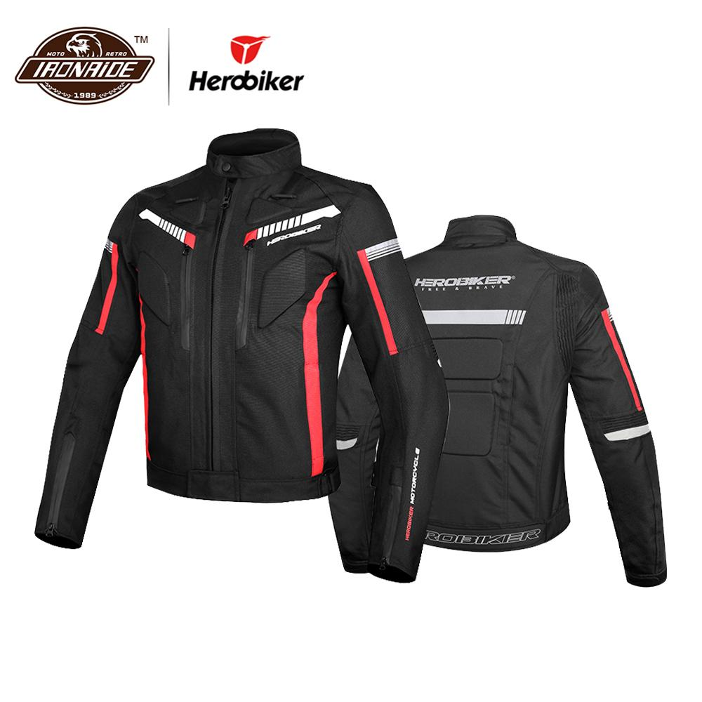 HEROBIKER Waterproof Motorcycle Jacket Men Riding Jacket Cold-proof Moto Protective Gear Autumn Winter Racing Motorbike ClothingHEROBIKER Waterproof Motorcycle Jacket Men Riding Jacket Cold-proof Moto Protective Gear Autumn Winter Racing Motorbike Clothing