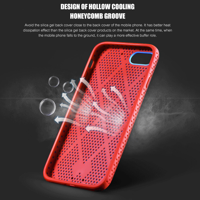 Image 5 - H&A Luxury Heat Dissipation Cover Case For iPhone 7 Plus Soft Silicone Case For iPhone 7 Full Protection Silicon Case-in Half-wrapped Cases from Cellphones & Telecommunications