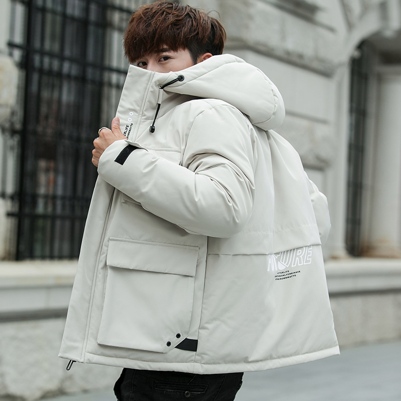 2019 Hip Hop Winter Jacket Windbreaker Men Harajuku Multi Pockets Jacket And Coat Casual Streetwear   Parkas   ABZ508