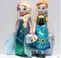 Juguetes de Disney de Dibujos Animados Lindo Kawai Juguetes Para Niñas Frozen Anna Elsa Princesa Baby Dolls 40/50 Cm Brinquedos Ty023