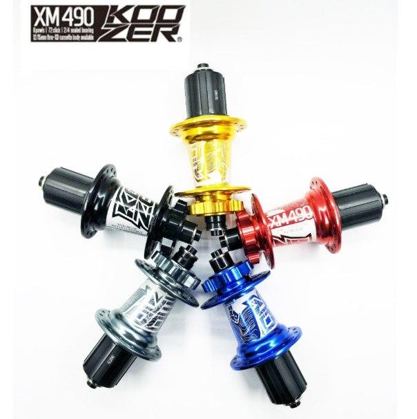 KOOZER HA02N/HA04N XM490 CNC moyeu en aluminium 2/4 roulements vtt 32 trous avec moyeu de vélo QC moyeu de vélo une paire livraison gratuite
