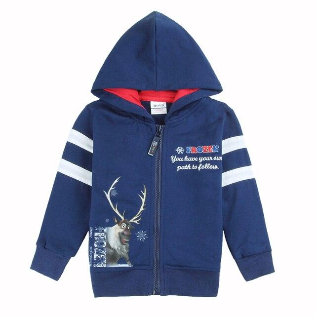 Синий одежда мальчики толстовки детская одежда детская свитер с длинным рукавом пальто детские толстовки новый год спортивные костюмы ребенок одежда из хлопка
