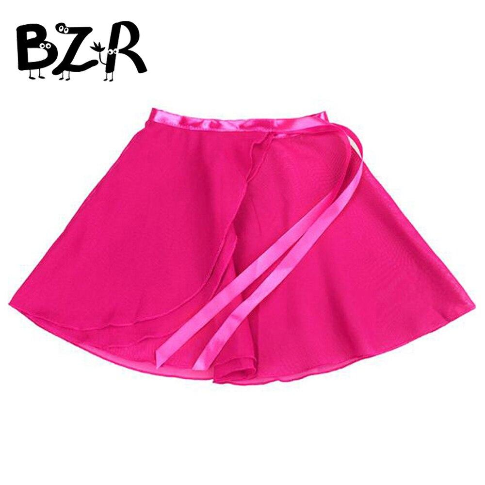 Bazzery Fashion girls tutu skirts baby ballerina skirt children chiffon tulle skirt kids dance ballet skirt for girl casual