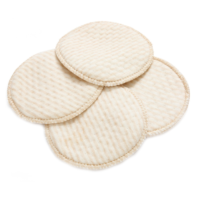Soft 4pcs/bag Mommy Nursing Pad Washable Breast Pads Spill Prevention Breast Feeding Convenient
