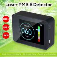 Air Quality Tester Portable Laser PM2.5 Detector Smart Monitor For Home Office Car