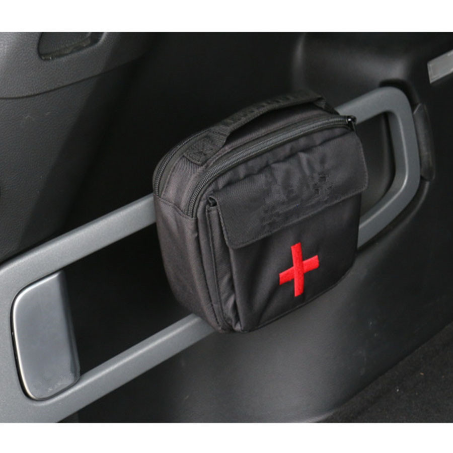 1pcs Car First Aid Bag Medical Emergency Survival Naturehike Portable Canvas Kit For Jeep Cherokee 2014-2016