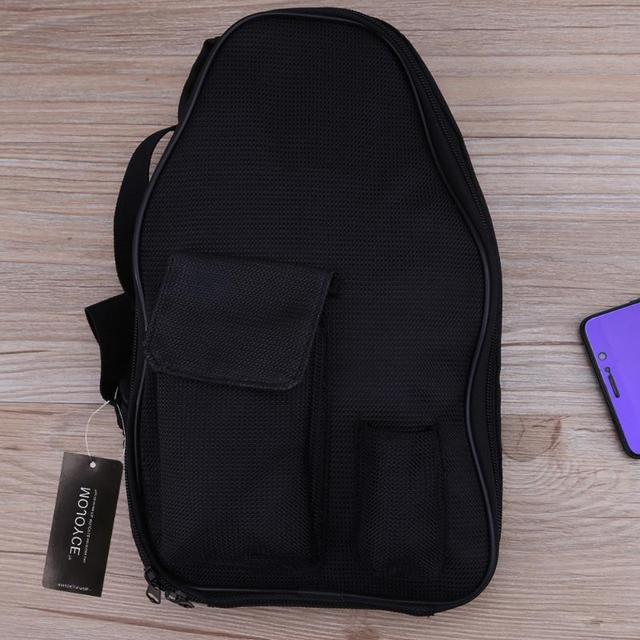 Black Storage Bag Cigarette Vapor Pocket E Cig Case Double Deck Bags Vape Mod Carrying