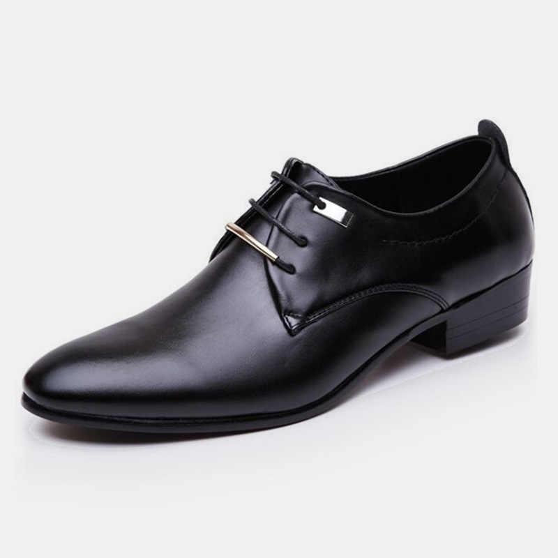 2019 элегантные кожаные мужские туфли в итальянском стиле под вечернее платье, обувь для танцев, роскошные брендовые модные мокасины, офисные туфли-оксфорды, обувь для офиса, BZ-244