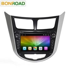 7 «Quad Core 1024*600 Android 6.0 Автомобильный GPS dvd-плеер для Solaris Verna Accent ПК автомобиля головного устройства автомобильный радиоприемник видеоплеер навигации