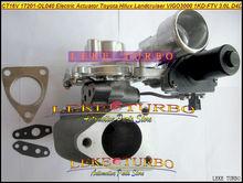 Бесплатная доставка CT16V 17201-OL040 17201-30110 электрический турбонагнетатель для тoyota Landcruiser Hilux SW4 D4D 1KD-FTV 3.0L