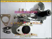 Livraison gratuite CT16V 17201-OL040 17201-30110 actionneur électrique Turbo turbocompresseur pour TOYOTA Landcruiser Hilux SW4 D4D 1KD-FTV 3.0L