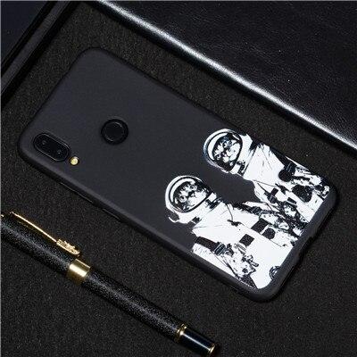 Phone Case For Xiaomi Redmi Note7 Case Soft Silicone TPU Cute Cat Painted Back Cover For Xiaomi Redmi Note7 Case For Redmi Note7 (23)