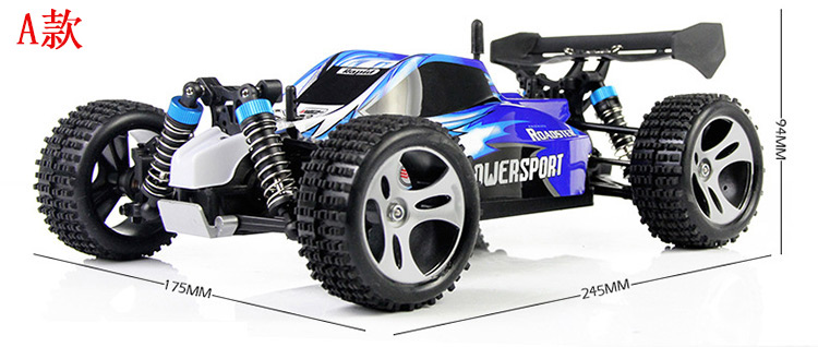 Cool Remote Control Cars: Cool ! Two Color 2.4G Radio Remote Control RC Car Buggies