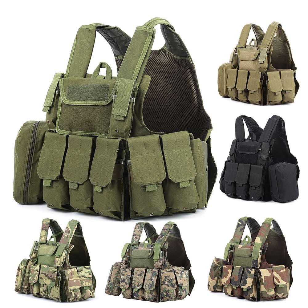 Gilet tactique de chasse avec beaucoup de poches militaire Molle - Sportswear et accessoires - Photo 5