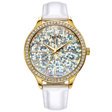 Lady Woman Wrist Watch Quartz Hours Best Fashion Dress Korea Bracelet Brand Rainbow Mermaid Scale Leather Girl Gift New JA791